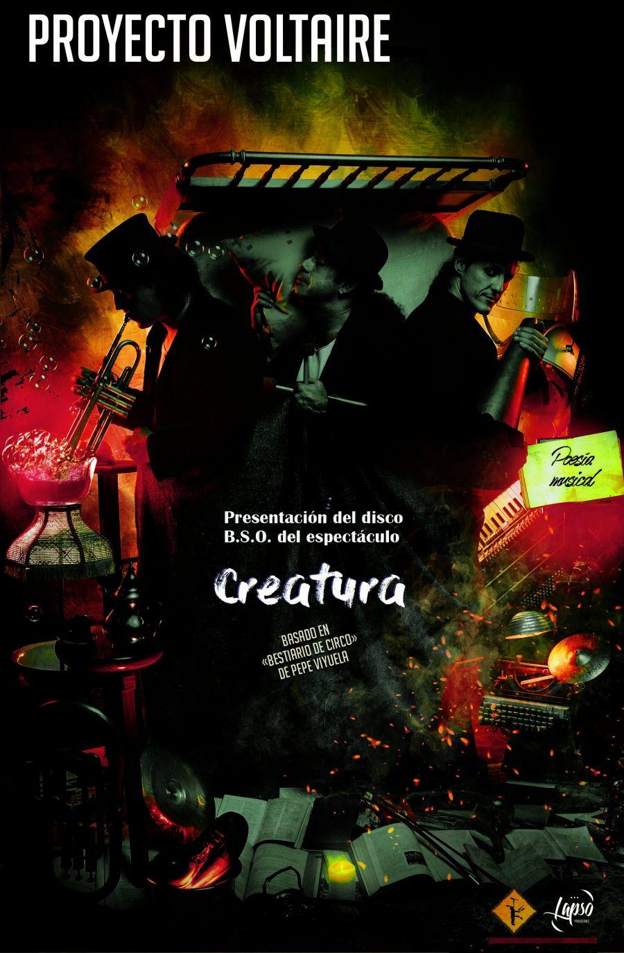 Proyecto Voltaire presenta su nuevo disco 'Creatura'