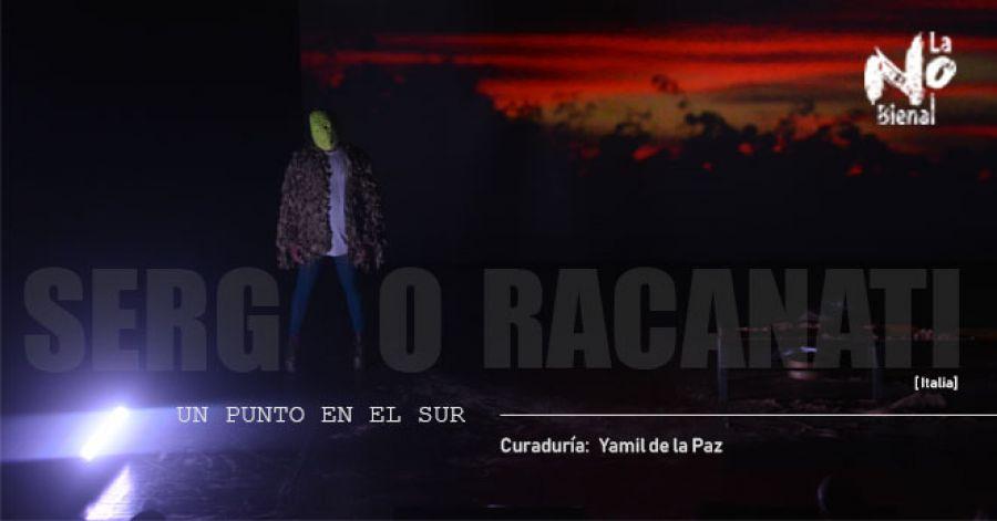 Un punto al Sur. Sergio Racanati. Estructuras, foto y performance