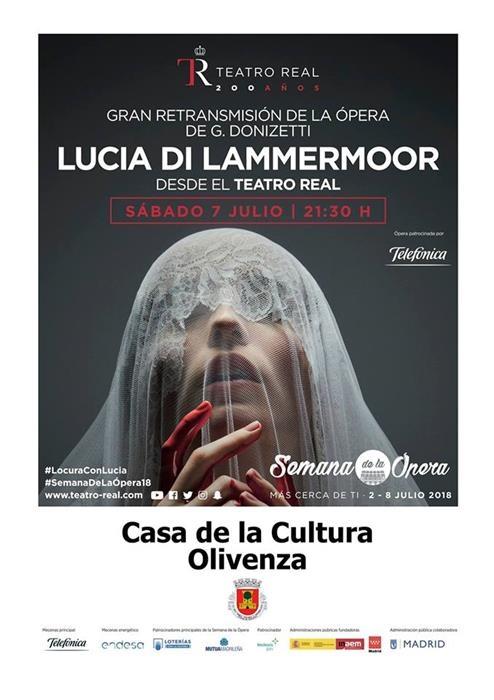 Ópera 'Lucia di Lammermoor'