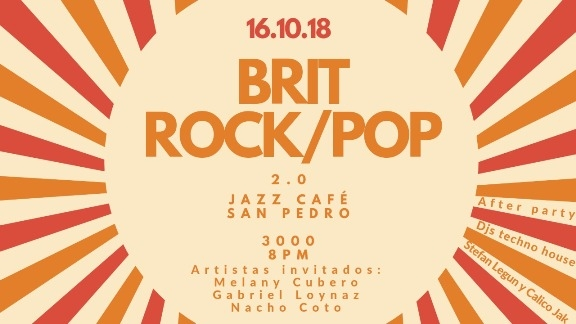 Concierto. Varios artistas. Brit-rock-pop