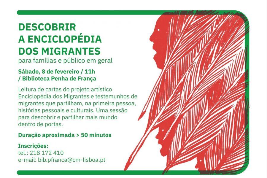 Descobrir a Enciclopédia dos Migrantes