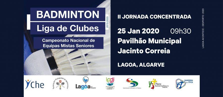 II Jornada Liga Clubes de Badminton Campeonato Nacional