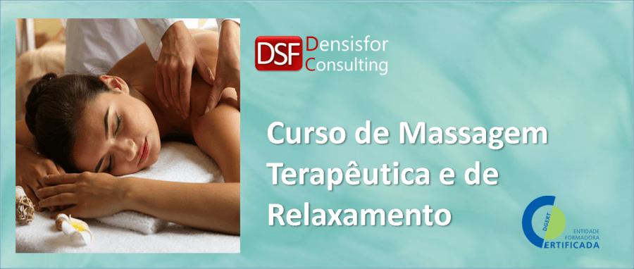 Curso de Massagem Terapêutica e de Relaxamento