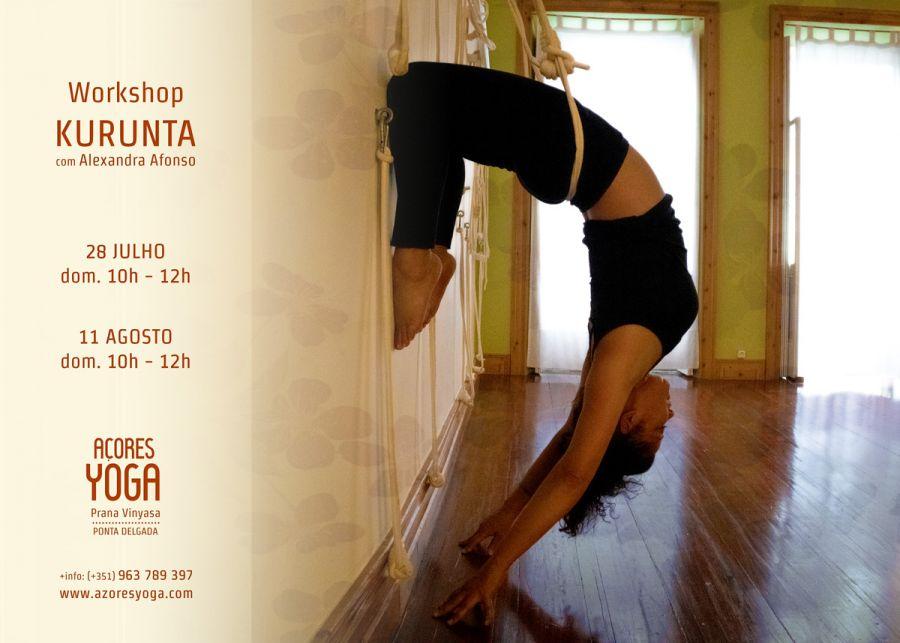 Workshop KURUNTA - Yoga com o suporte das cordas
