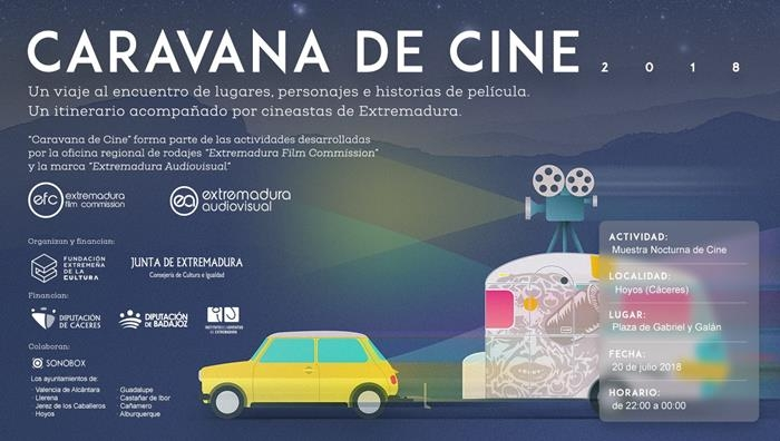 Muestra Nocturna de Cine en Hoyos // CARAVANA DE CINE