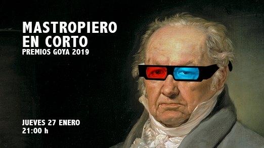 Jueves Culturales: Mastropiero en Corto - Goyas 2019