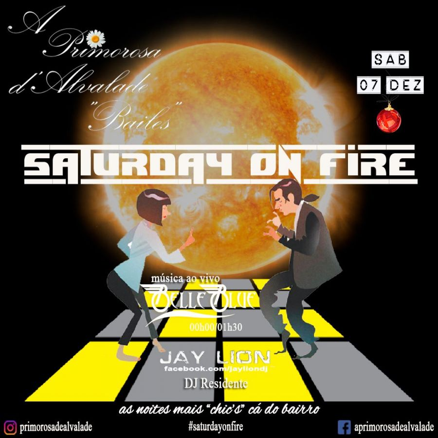 Primorosa de Alvalade - Belle Blue & Jay Lion - Saturday On Fire