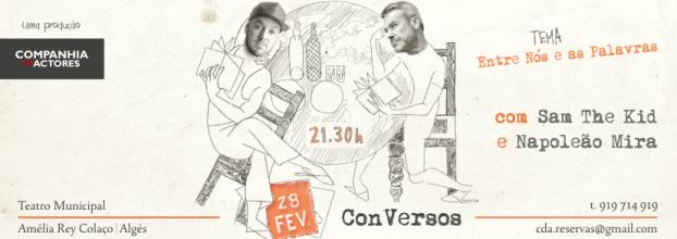 ConVersos | Sam the Kid e Napoleão Mira no Teatro Amélia Rey Colaço