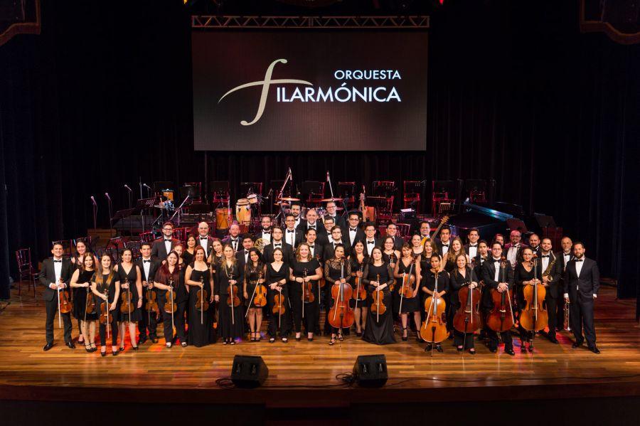 De Italia con amor. Orquesta Filarmónica