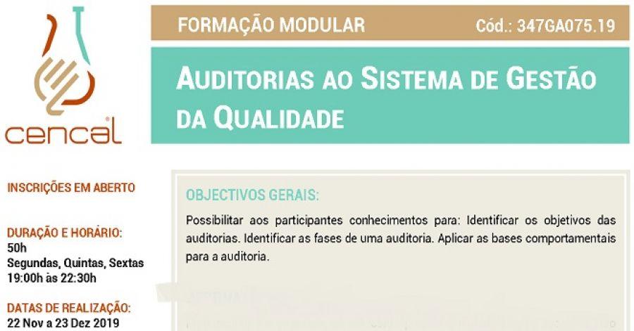 Auditorias ao Sistema da Qualidade