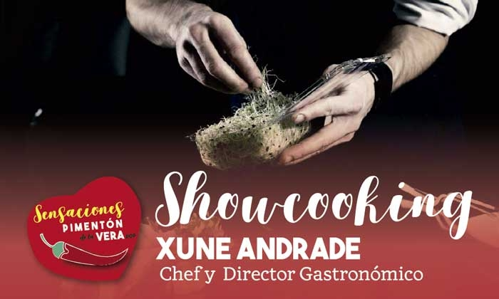 SHOWCOOKING con Xune Andrade