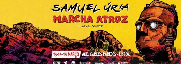 Samuel Úria - Marcha Atroz ao vivo