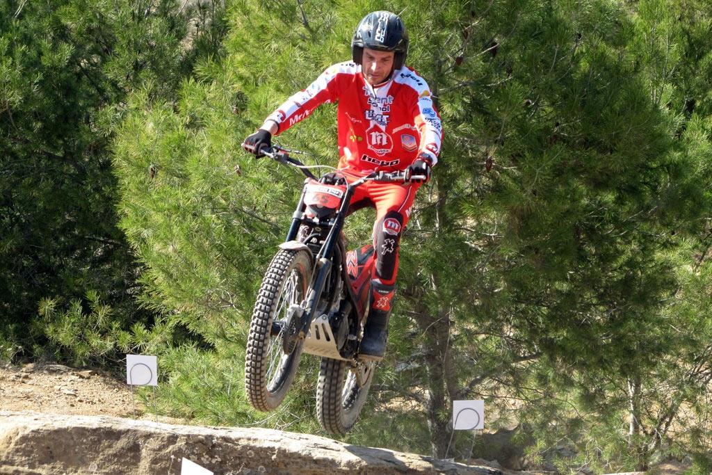 Campeonato de Trial de Extremadura. CEREZO EN FLOR