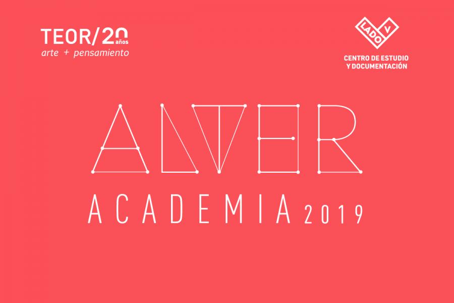 Inauguración. Cierre alter academia 2019. Colectiva. Técnica mixta