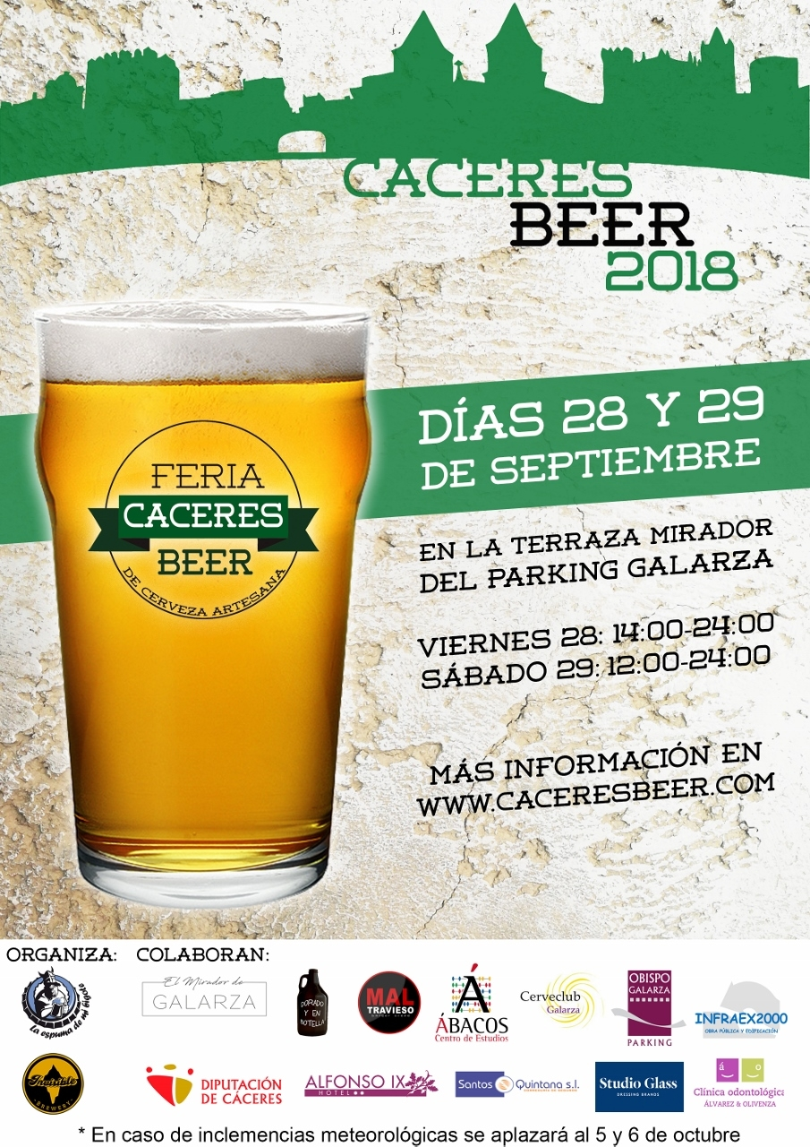 Cáceres Beer 2018