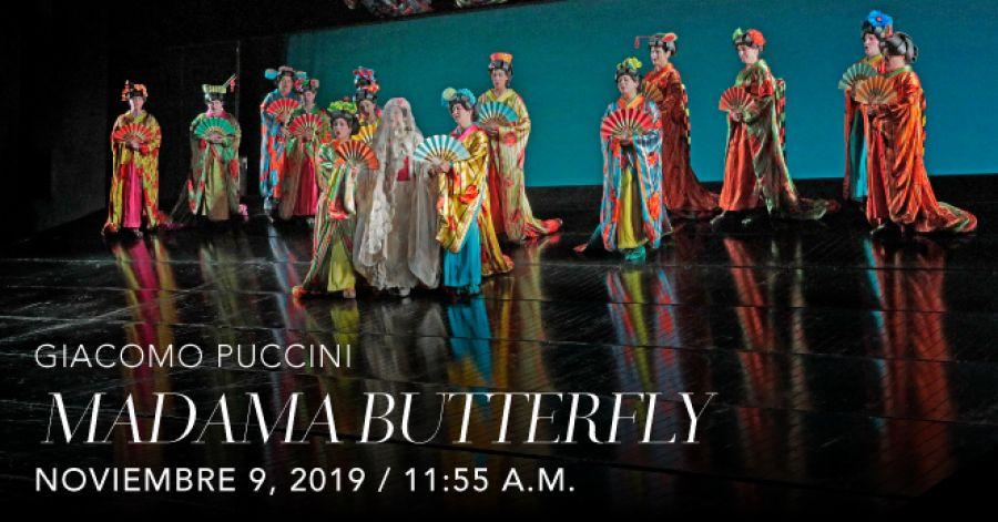 Madama Butterfly, Giacomo Puccini. Opera. Transmisión en vivo