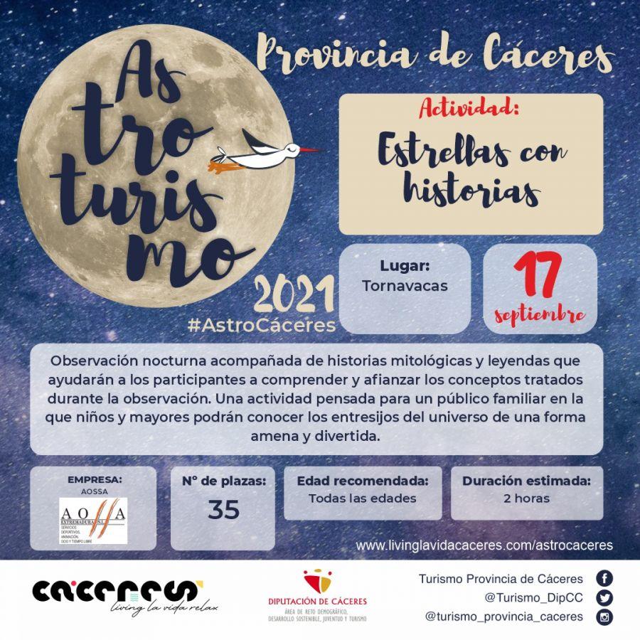 Astro Cáceres 2021   Observación nocturna en el Valle del Jerte