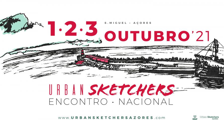 Encontro Nacional de Urbansketchers em São Miguel, Açores