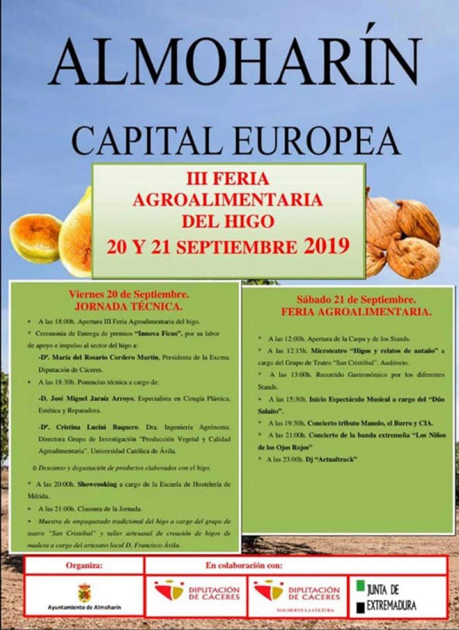 III FERIA AGROALIMENTARIA DEL HIGO 2019