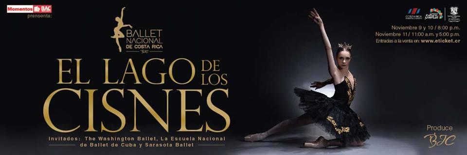 El lago de los cisnes. Ballet Nacional de Costa Rica. Ballet