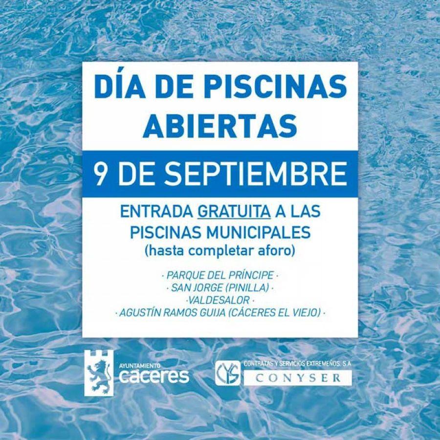 Día de Extremadura   Apertura gratuita de piscinas