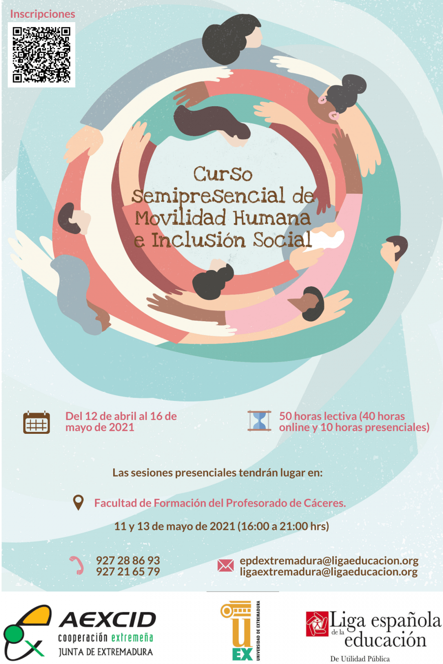 Curso Semipresencial Movilidad humana e inclusión social