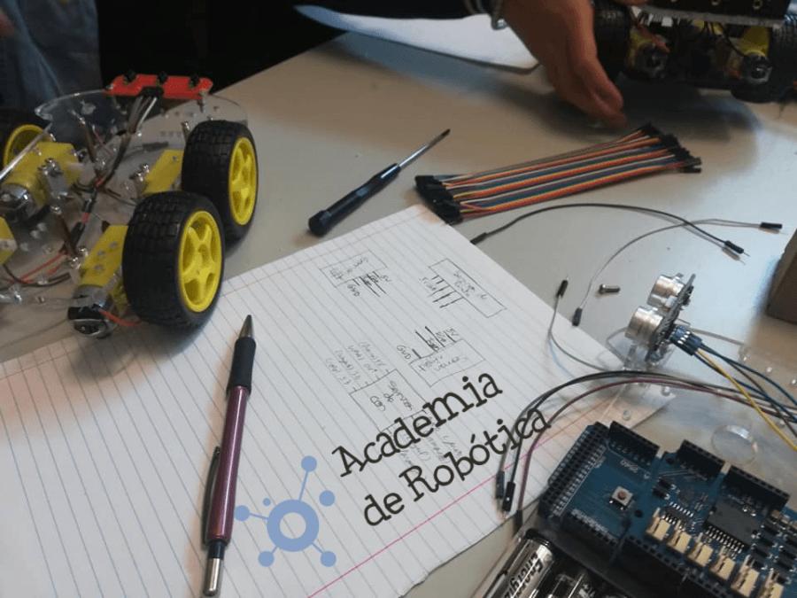 Curso de Robótica - Nível I [Lisboa]