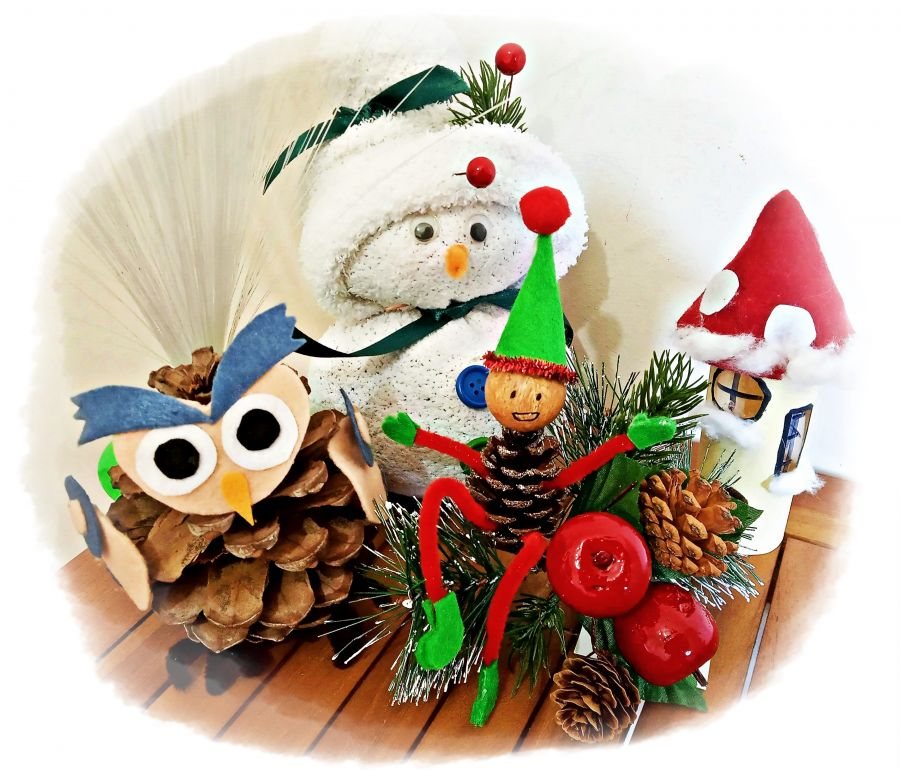 Workshop de Decorações de Natal   Biblioteca Municipal de Penacova