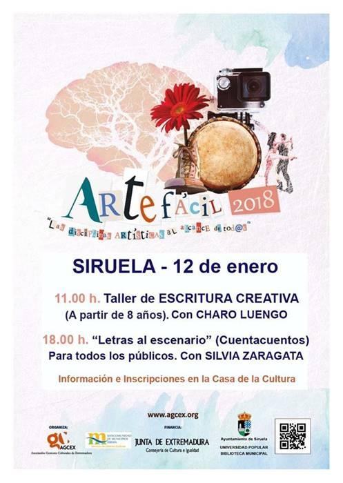 Taller de escritura creativa y caligrafía | Siruela