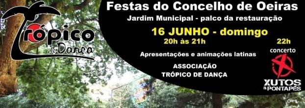 Festas de Oeiras - Aulas e Animaçoes de Ritmos Latinos