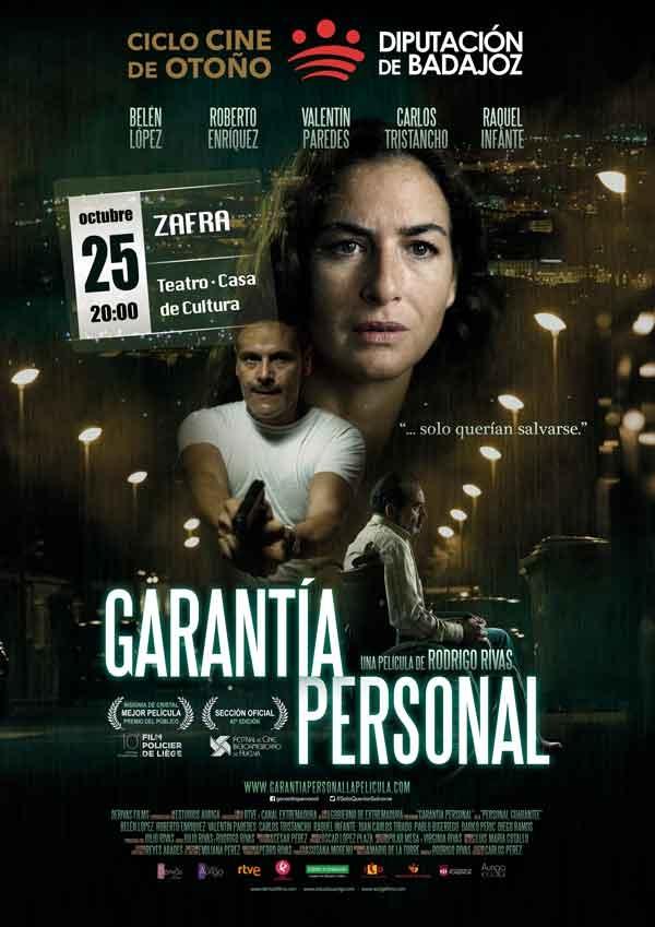Proyección GARANTÍA PERSONAL   Zafra