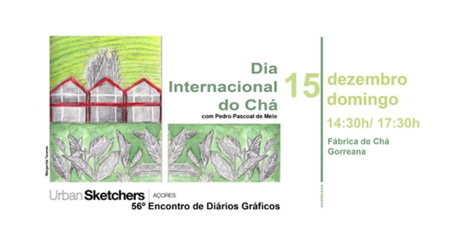 56º Encontro de Diários Gráficos | Dia Internacional do Chá