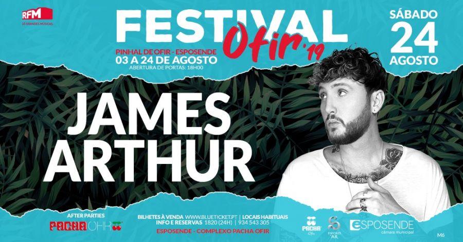 Festival Ofir - James Arthur