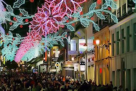 Inauguración. Iluminación navideña de San José 2018