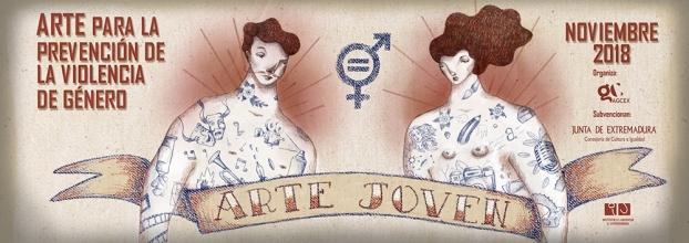 Arte Joven: arte para la prevención de la violencia de género.