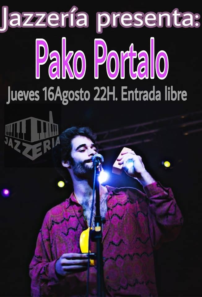 Pako Portalo en concierto || La Jazzería