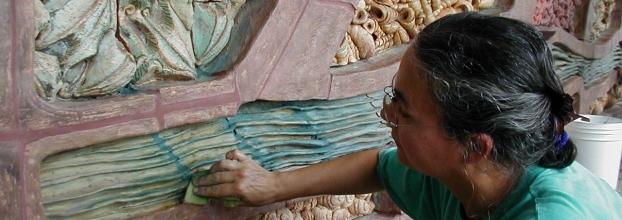 La cerámica y el arte público