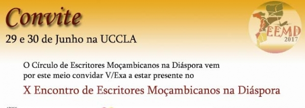 X Encontro de Escritores Moçambicanos na Diáspora