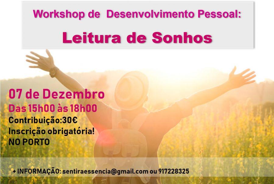 Workshop: Leitura de Sonhos