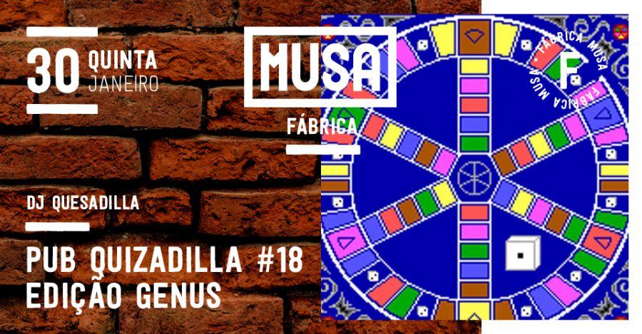 Pub Quizadilla #18 c/ DJ Quesadilla