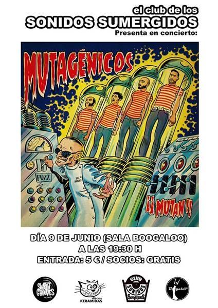 Concierto de MUTAGÉNICOS || Sala Boogaloo