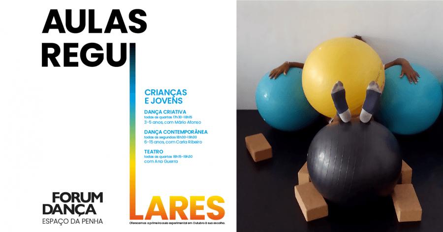 Aulas Regulares de Dança e Teatro para Crianças e Jovens 2019/20