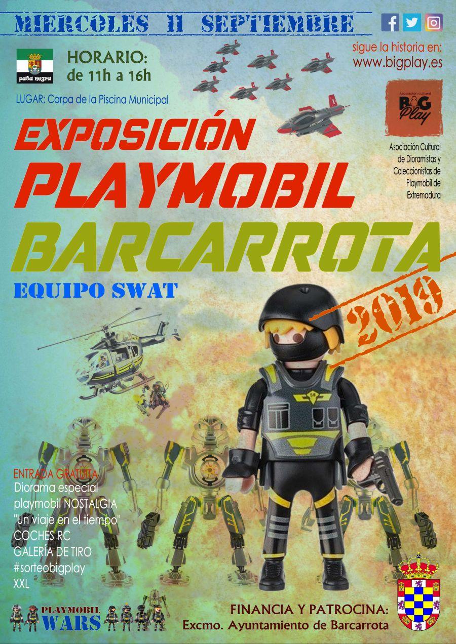 Exposición Playmobil BARCARROTA 2019 EQUIPO SWAT