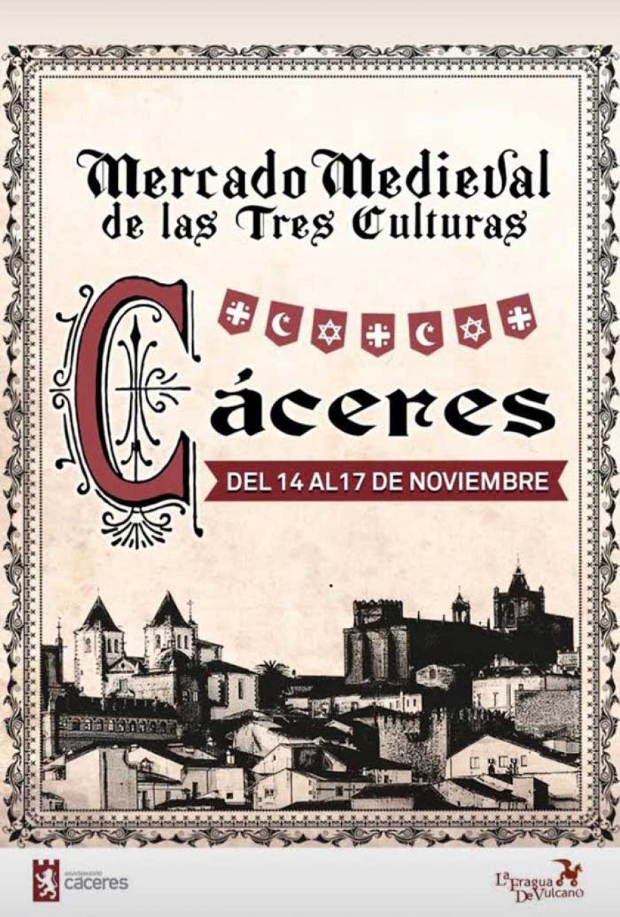 Mercado medieval de las 3 culturas de Cáceres 2019