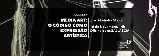 Aula Aberta | Media art: o código como expressão artística