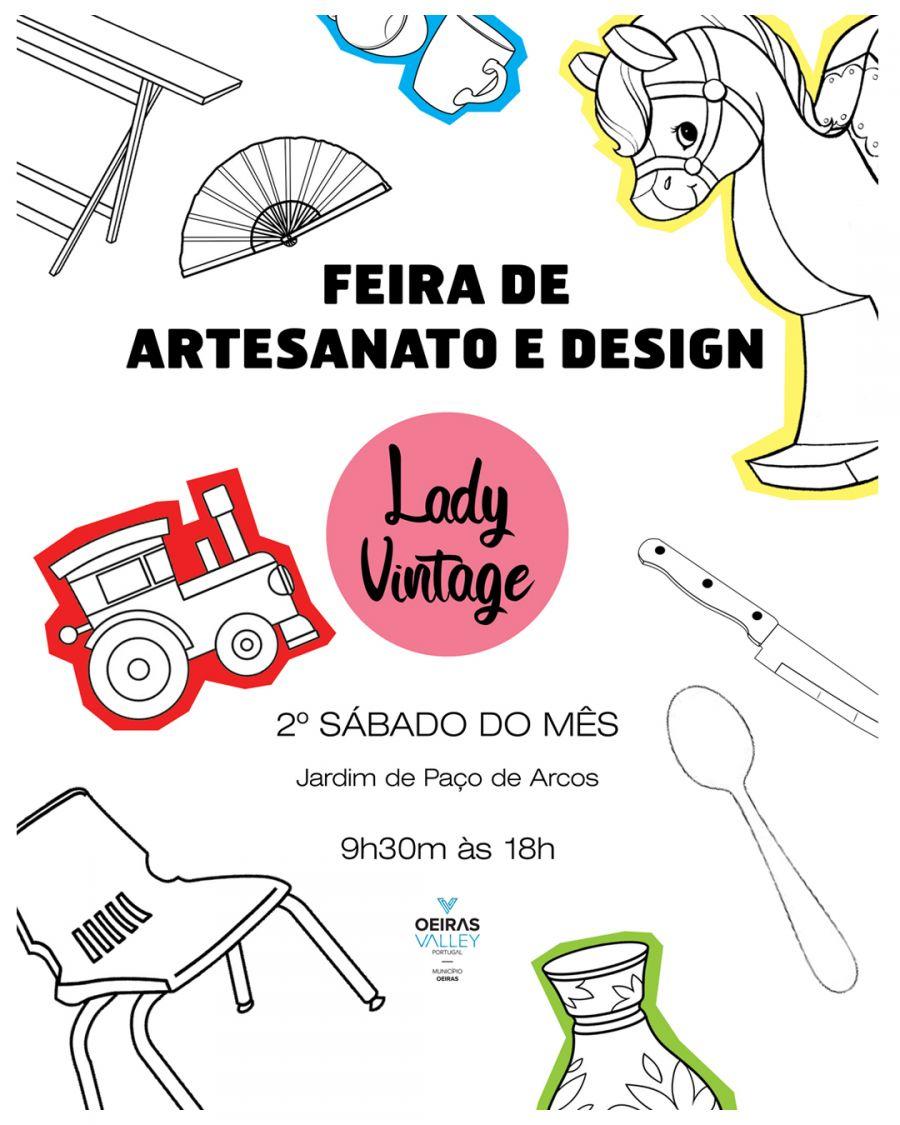 FEIRA DE ARTESANATO E DESIGN LADY VINTAGE