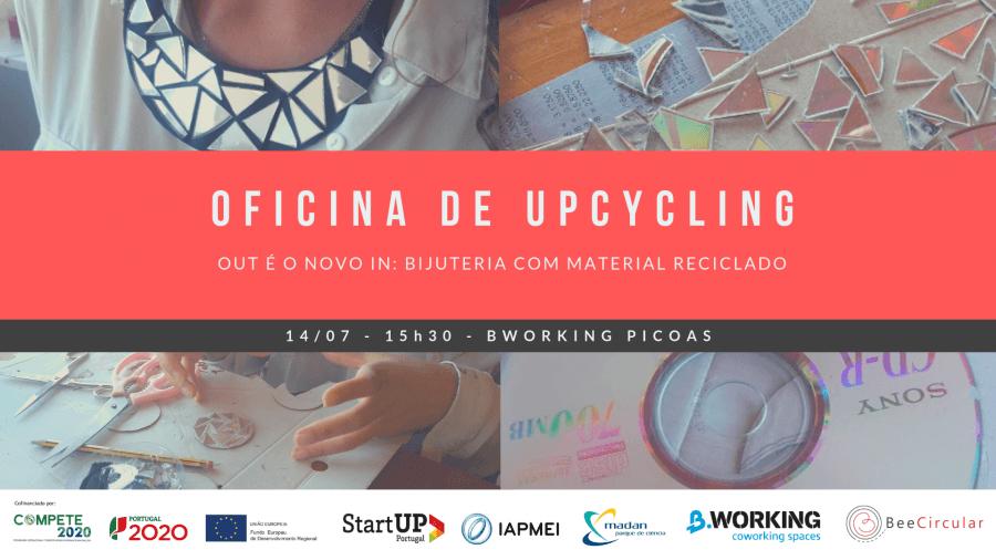 Oficina de Upcycling: 'Out é o novo In'