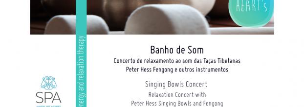 Banho de Som - Concerto de Taças Tibetanas Terapêuticas