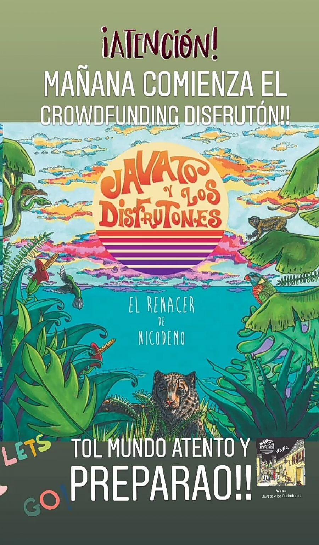 Crowdfunding de Javato y los disfrutones