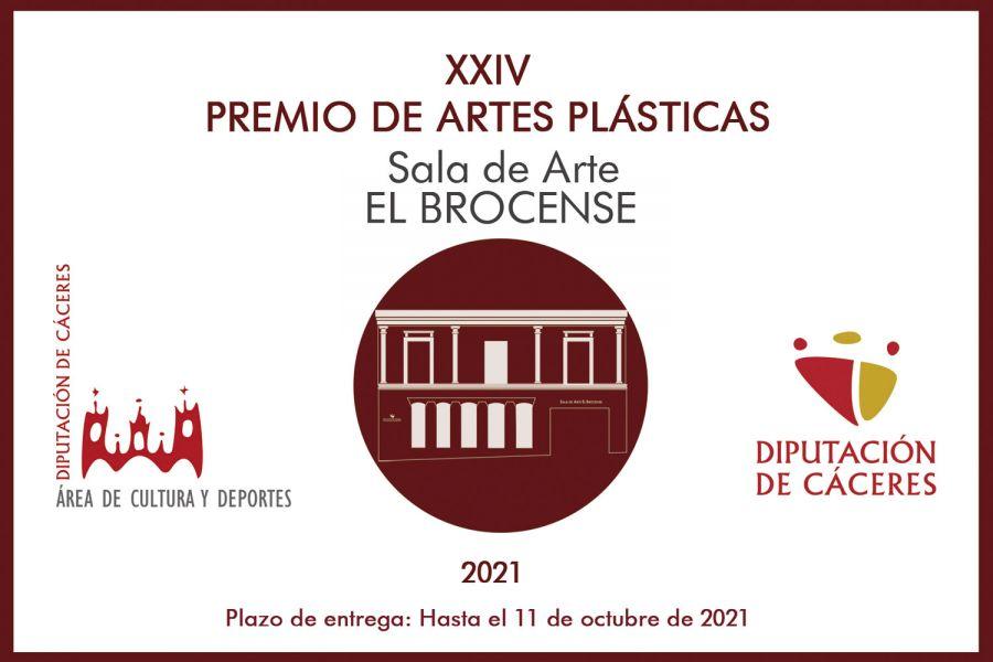 XXIV EDICIÓN DEL PREMIO ARTES PLÁSTICAS 'SALA EL BROCENSE' (Diputación de Cáceres)
